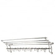 Coatrack Hudson nickel finish COATRACKS Eichholtz