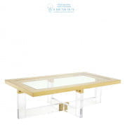 112389 Coffee Table Horizon 140 x 80 cm gold finish  Eichholtz