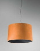Axo Light Velvet SP VEL 100 Arancio / Nero подвесной светильник SPVEL100E27ARNE