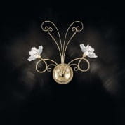 IDL Butterfly 543/2A Light gold бра