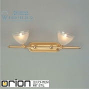 Прожектор Orion Opaldesign Str 10-347/2 gold-matt/438 klar-matt