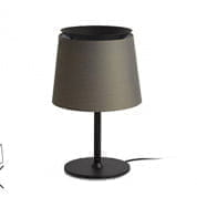 20315 Faro SAVOY Dark green shade table lamp настольная лампа