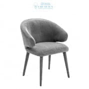 112066 Dining Chair Cardinale clarck grey Eichholtz