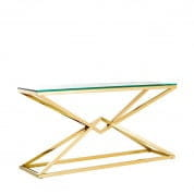 Console Table Connor 150x40xH. 75,5cm gold finish таблица Eichholtz