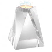 112439 Tealight Holder Liaison crystal glass Eichholtz
