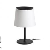 20313 Faro SAVOY White shade table lamp настольная лампа