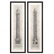 Prints EC185 Columna set of 2  отпечаток Eichholtz