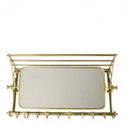 Coatrack Varadero with mirror brass finish COATRACKS Eichholtz