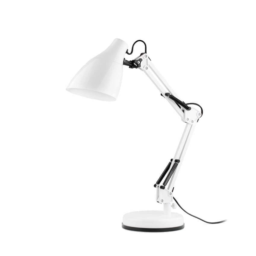 51916 Faro GRU настольная лампа белый 1хE27 11W светильник – купить по цене €33 в Москве