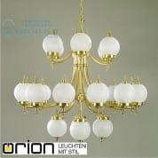Люстра Orion Chandelier LU 1510/12+6+4 bronze/407/18 matt