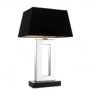 103115 Table Lamp Arlington nickel finish incl shade настольная лампа Eichholtz