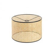 2P0730 Faro Rattan shade floor lamp торшер