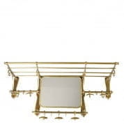 Coatrack Old French brass finish COATRACKS Eichholtz