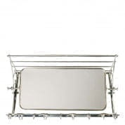 Coatrack Varadero with mirror pewter finish COATRACKS Eichholtz