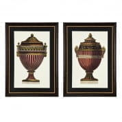 Prints EC210 Empire Urns set of 2  отпечаток Eichholtz