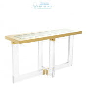 112392 Console Table Horizon gold finish  Eichholtz