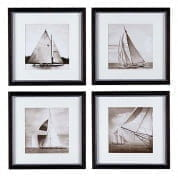 Prints EC081 Michael Kahn Boats set of 4 отпечаток Eichholtz
