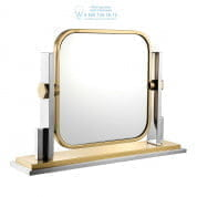 111912 Table Mirror Carmen gold finish pol ss Eichholtz