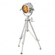 Floor Lamp Royal Master Sealight nickel finish торшер Eichholtz