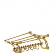 Coatrack Hudson brass finish 70cm COATRACKS Eichholtz