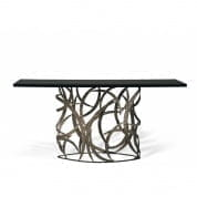 CCT33 Elliptical Miro Console Table консольный стол Porta Romana