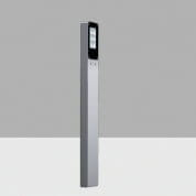 AKS8 Lander iGuzzini Vertical Light Bollard, Transversal Asymmetric Optic, Warm LED, 220-240V ac