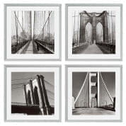 Prints EC193 New York Bridges set of 4  отпечаток Eichholtz