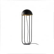24521 JELLYFISH Black and gold floor lamp торшер Faro barcelona