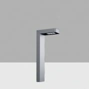 AKS9 Lander iGuzzini Bollard H=650 mm, Longitudinal Asymmetric Optic, Warm LED, 220-240V ac