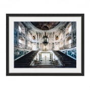 Prints EC249 Baroque Grand Staircase  отпечаток Eichholtz