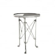 Side Table St Etienne antique silver finish Ø 42cm SIDE TABLES Eichholtz