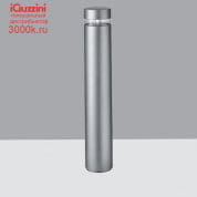BW79 iWay round iGuzzini Bollard D=170mm H=1000mm Warm White Led with electronic ballast and symmetrical optic