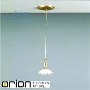 Подвесной светильник Orion Opaldesign HL 6-1438/1 gold-matt/438 klar-matt