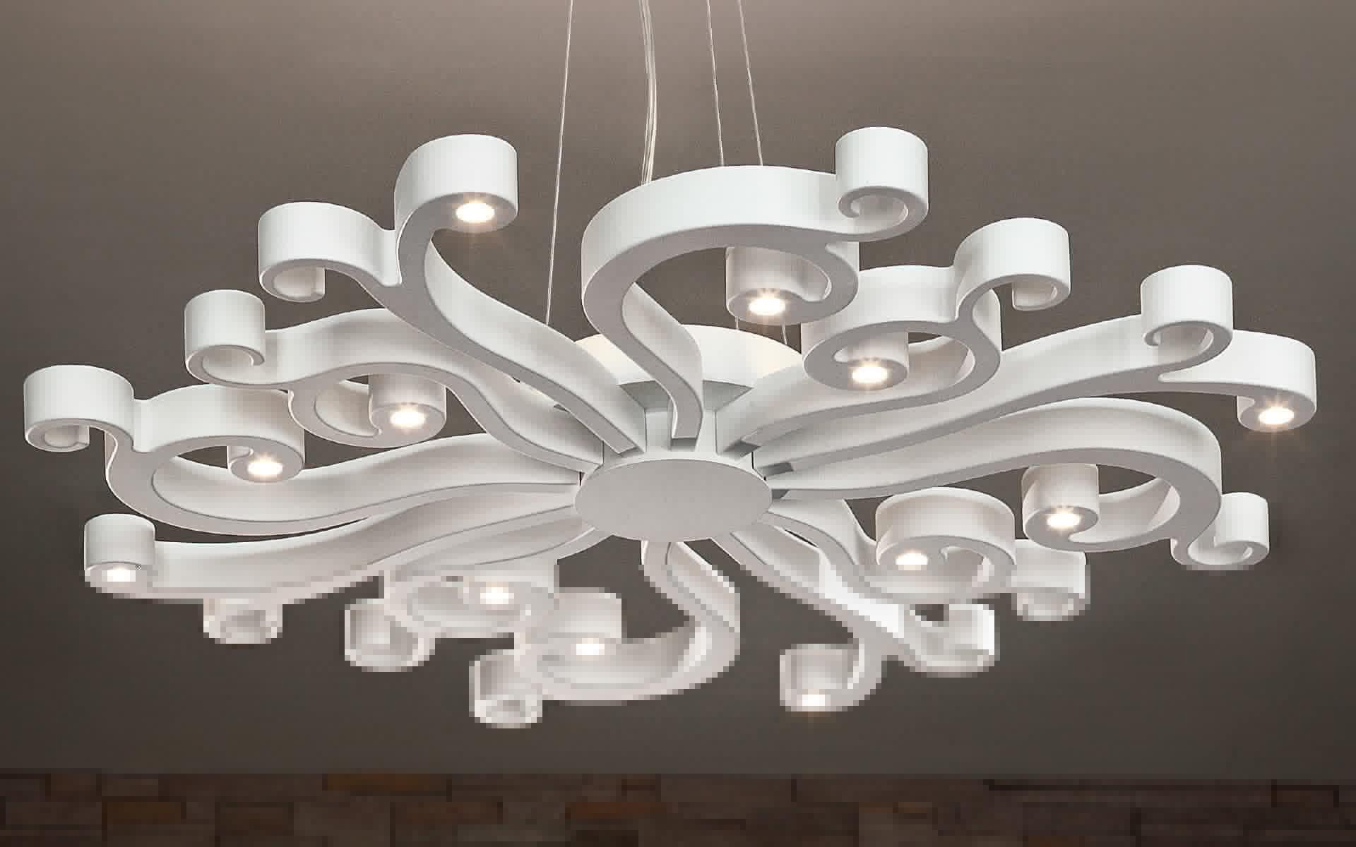 Дизайн потолочных люстр