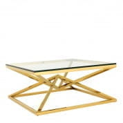 Coffee Table Connor gold finish кофейная карта Eichholtz