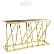 111866 Console Table Cristiano gold finish Eichholtz