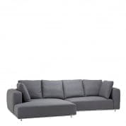 Sofa Colorado Lounge charcoal - U диван Eichholtz