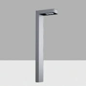 AKU1 Lander iGuzzini Bollard H=950 mm, Longitudinal Asymmetric Optic, Warm LED, 220-240V ac