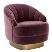 111862 Chair Hadley cameron purple Eichholtz