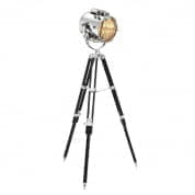Floor Lamp Atlantic nickel finish торшер Eichholtz