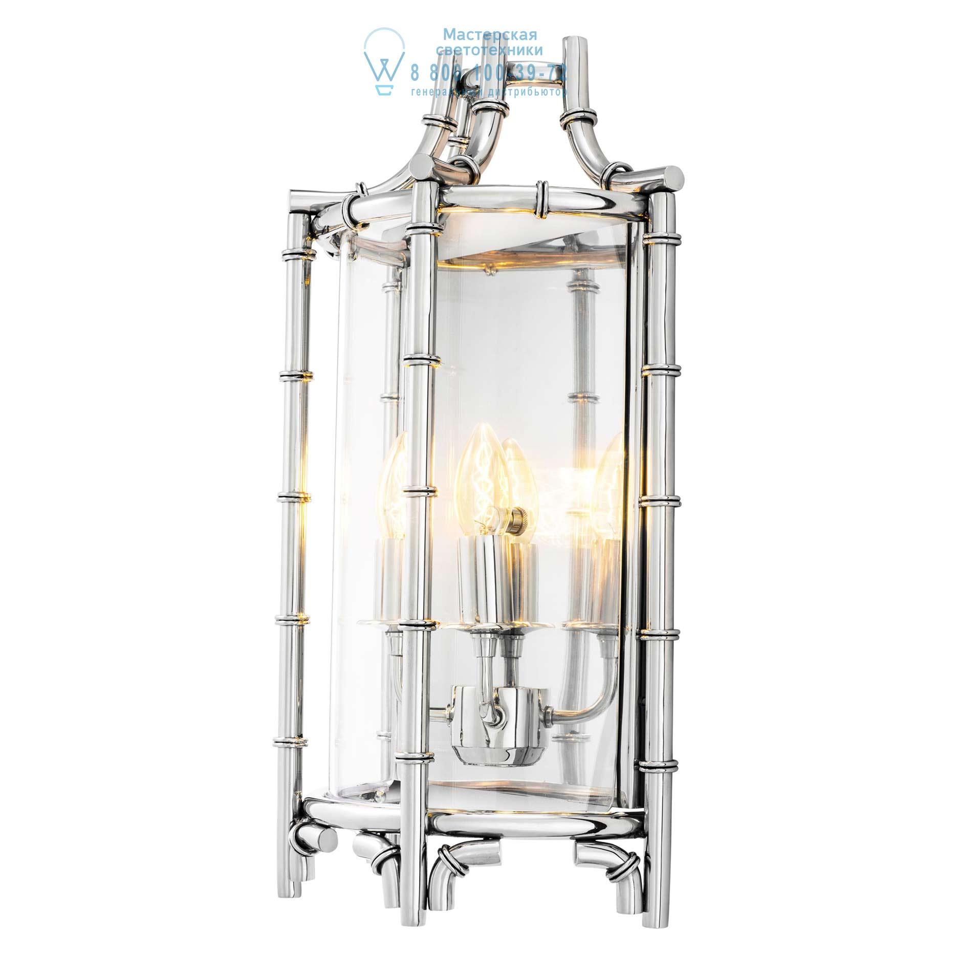 Настенный светильник Vasco из полированной нержавеющей стали Eichholtz 111251