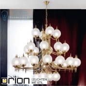 Люстра Orion Chandelier LU 1510/4+16+8+4 bronze/407/18 matt