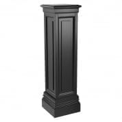 Column Salvatore waxed black finish 120cm колонна Eichholtz