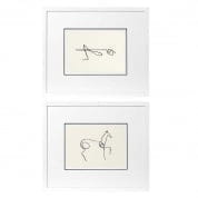 Prints EC195 Pablo Picasso set of 2  отпечаток Eichholtz