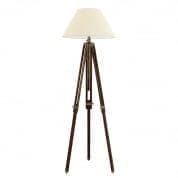 Floor Lamp Telescope brown L incl. shade торшер Eichholtz