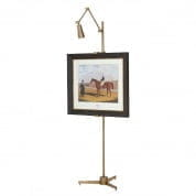 Easel Warhol aged brass finish мольберт Eichholtz