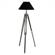 Floor Lamp Telescope black L incl. shade торшер Eichholtz