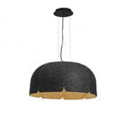 20104 Faro MUTE LED Brown and dark grey pendant lamp 4000K подвесной светильник