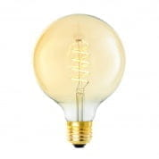 LED Bulb Globe 4W E27 ø 12,5 x 17 cm set of 4 лампочка Eichholtz