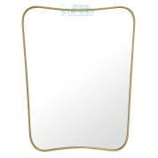 111587 Mirror Vivienne brushed brass finish Eichholtz